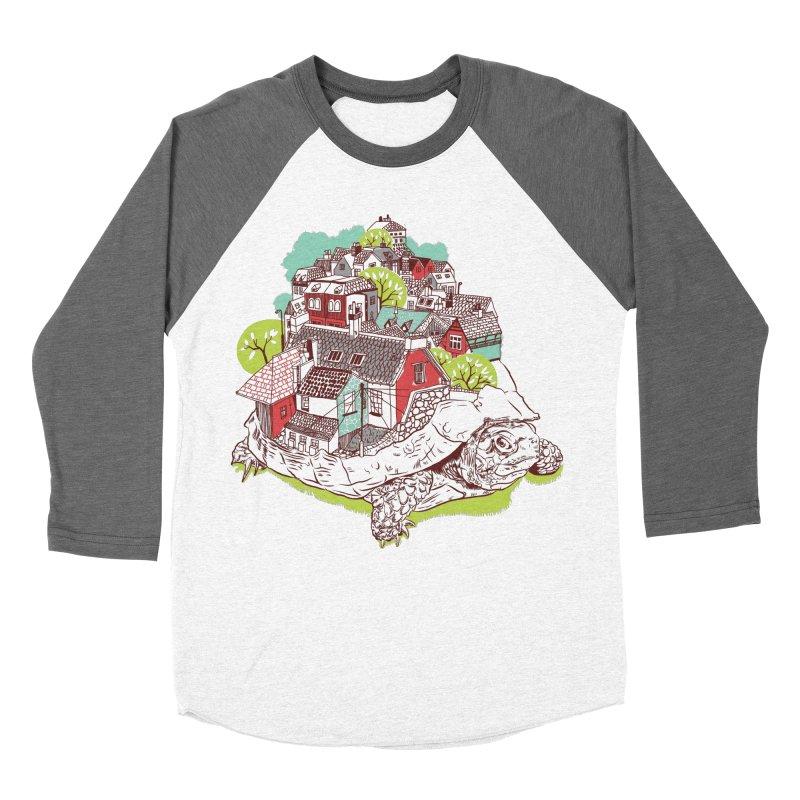 TurTown Men's Baseball Triblend T-Shirt by Artist Shop
