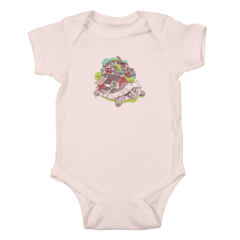 TurTown Kids Baby Bodysuit by Artist Shop