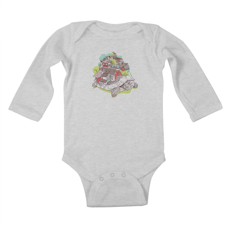 TurTown Kids Baby Longsleeve Bodysuit by Artist Shop