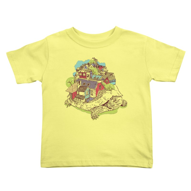 TurTown Kids Toddler T-Shirt by Artist Shop
