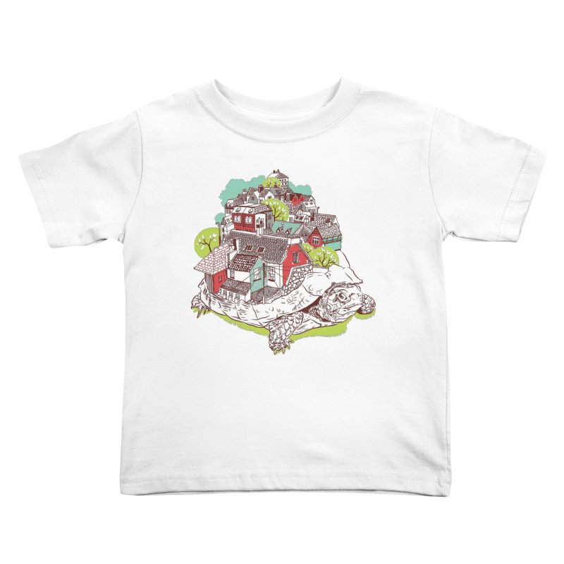 TurTown Kids Toddler T-Shirt by Artist Shop