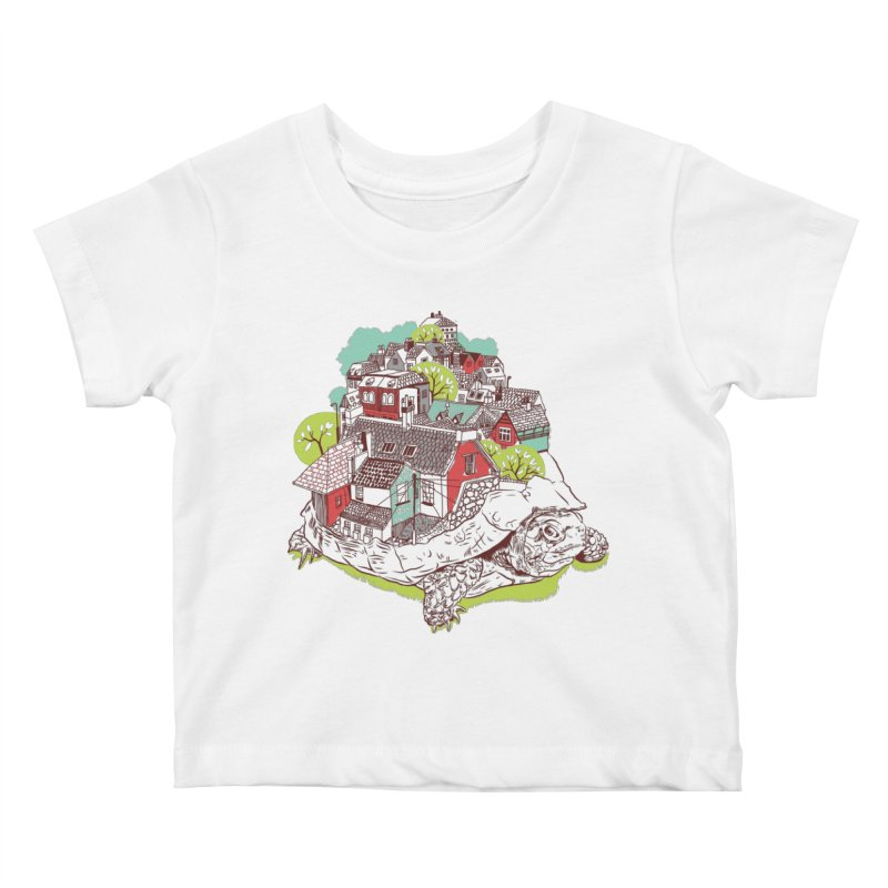 TurTown Kids Baby T-Shirt by Artist Shop