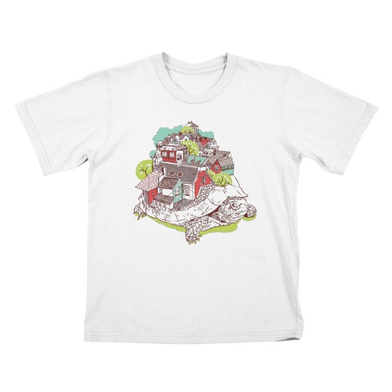 TurTown Kids T-Shirt by Artist Shop
