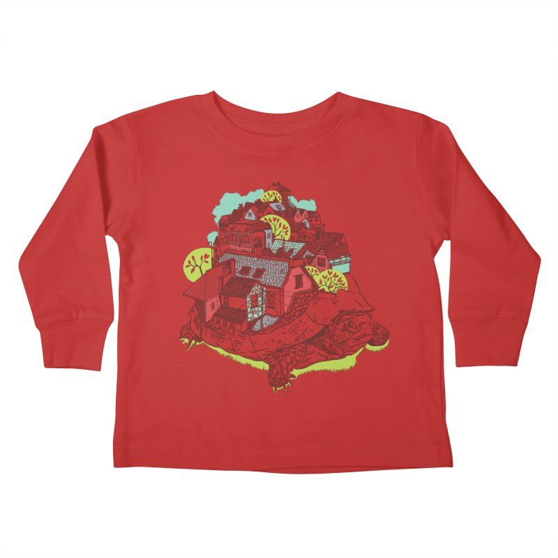 TurTown Kids Toddler Longsleeve T-Shirt by Artist Shop