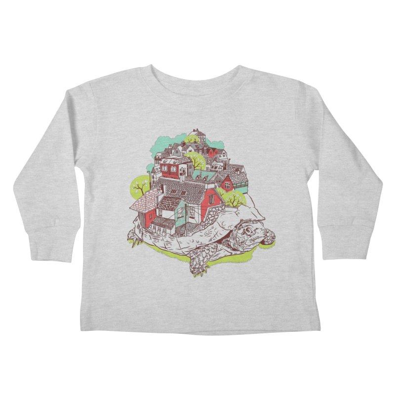 TurTown Kids Toddler Longsleeve T-Shirt by Artist Shop