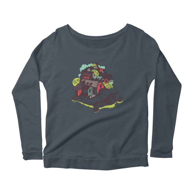 TurTown Women's Scoop Neck Longsleeve T-Shirt by Artist Shop