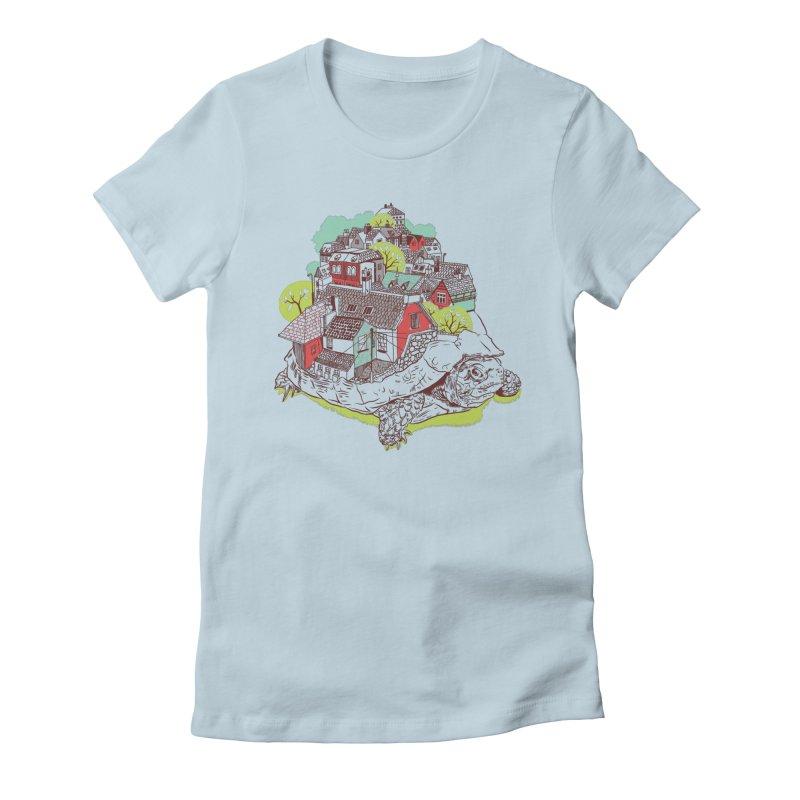TurTown Women's T-Shirt by Artist Shop