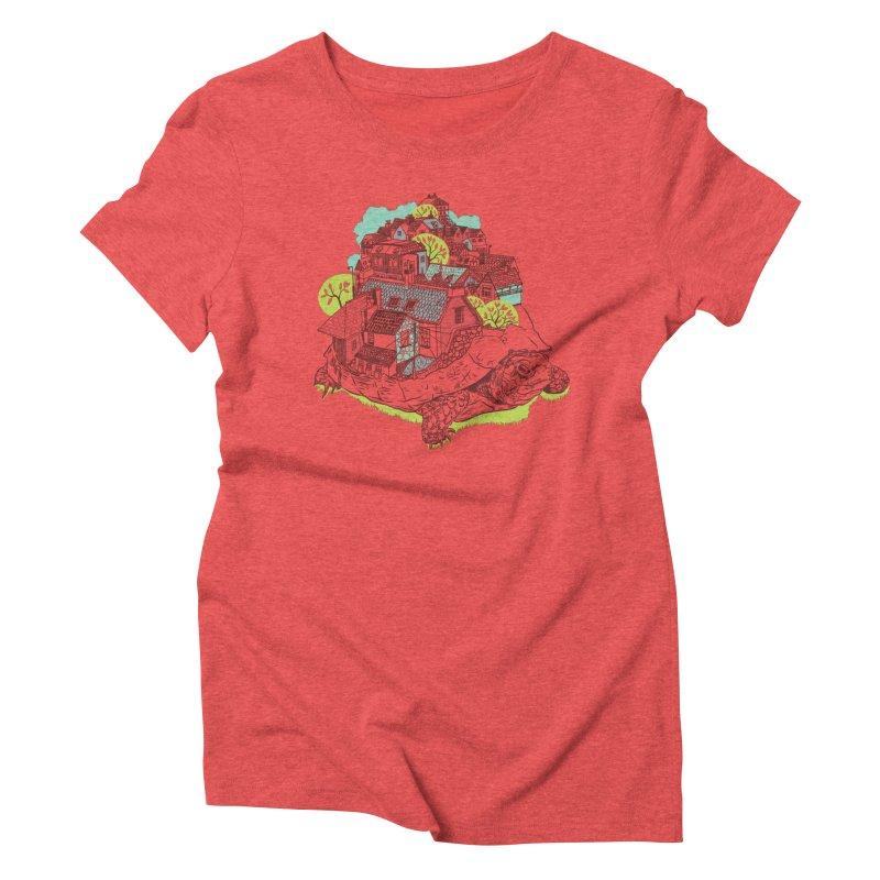 TurTown Women's Triblend T-Shirt by Artist Shop