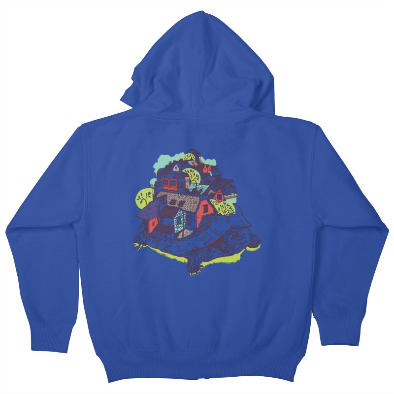 TurTown Kids Zip-Up Hoody by Artist Shop
