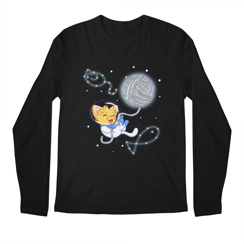 Yarn Moon Men's Longsleeve T-Shirt by Baubly Apparel