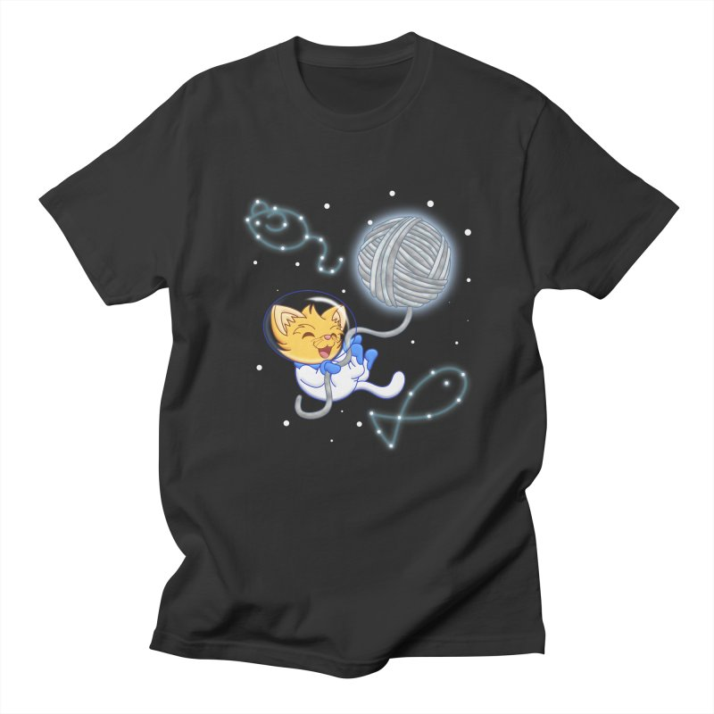 Yarn Moon Men's T-shirt by Baubly Apparel