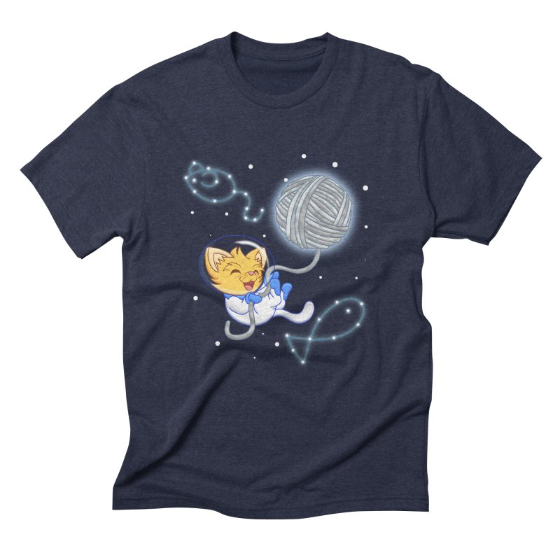 Yarn Moon Men's Triblend T-Shirt by Baubly Apparel