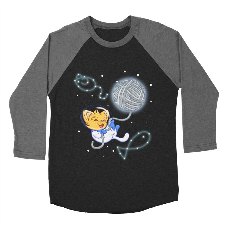 Yarn Moon Men's Baseball Triblend T-Shirt by Baubly Apparel