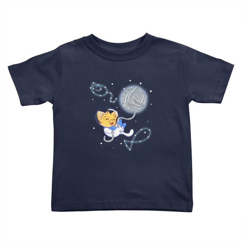 Yarn Moon Kids Toddler T-Shirt by Baubly Apparel