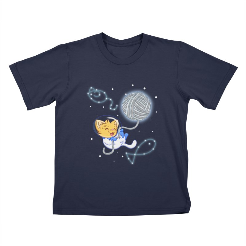Yarn Moon Kids T-shirt by Baubly Apparel