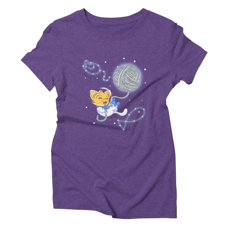 Yarn Moon Women's Triblend T-Shirt by Baubly Apparel