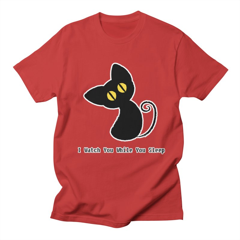 Kitty Stare Women's Unisex T-Shirt by Baubly Apparel