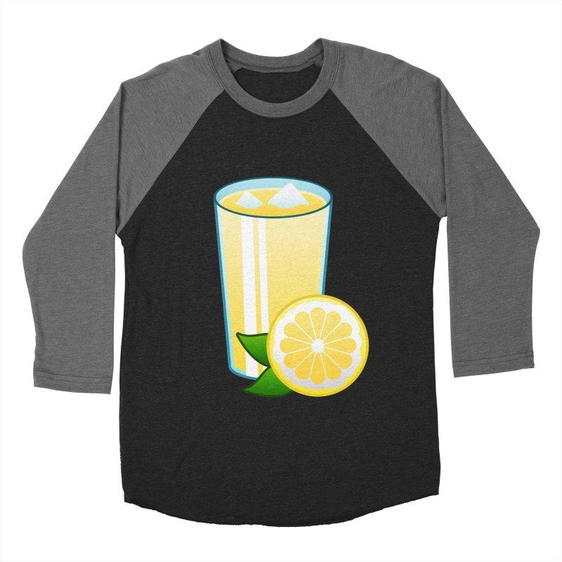 Sweet Lemonade Women's Baseball Triblend T-Shirt by Baubly Apparel