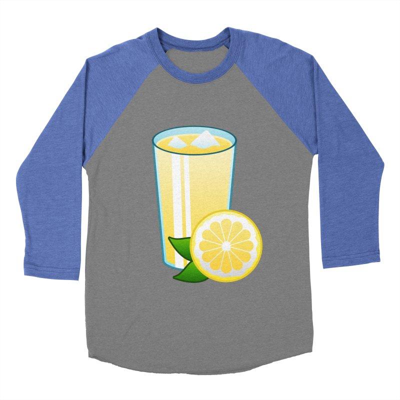 Sweet Lemonade Men's Baseball Triblend T-Shirt by Baubly Apparel