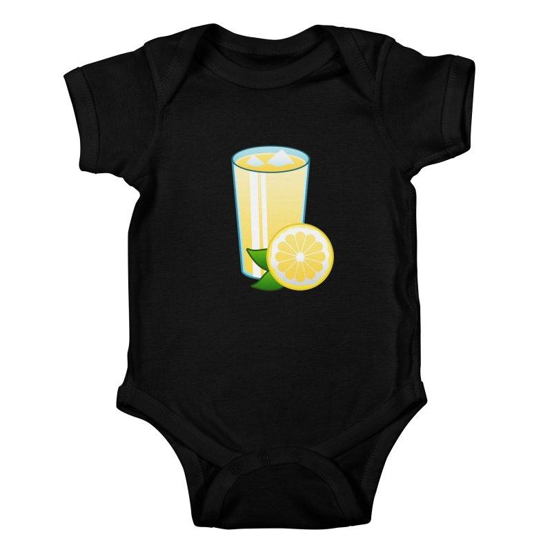 Sweet Lemonade Kids Baby Bodysuit by Baubly Apparel