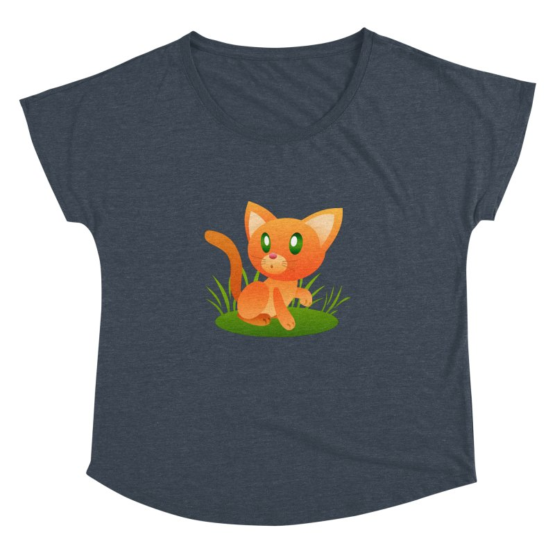 Little Cat Women's Dolman by Baubly Apparel