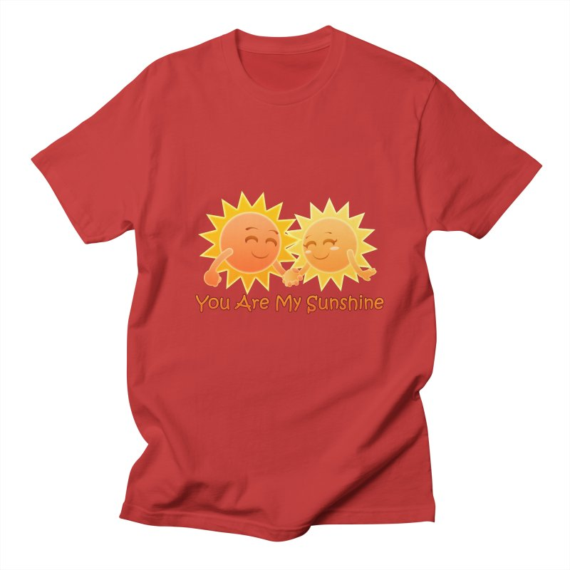 You Are My Sunshine Men's T-shirt by Baubly Apparel