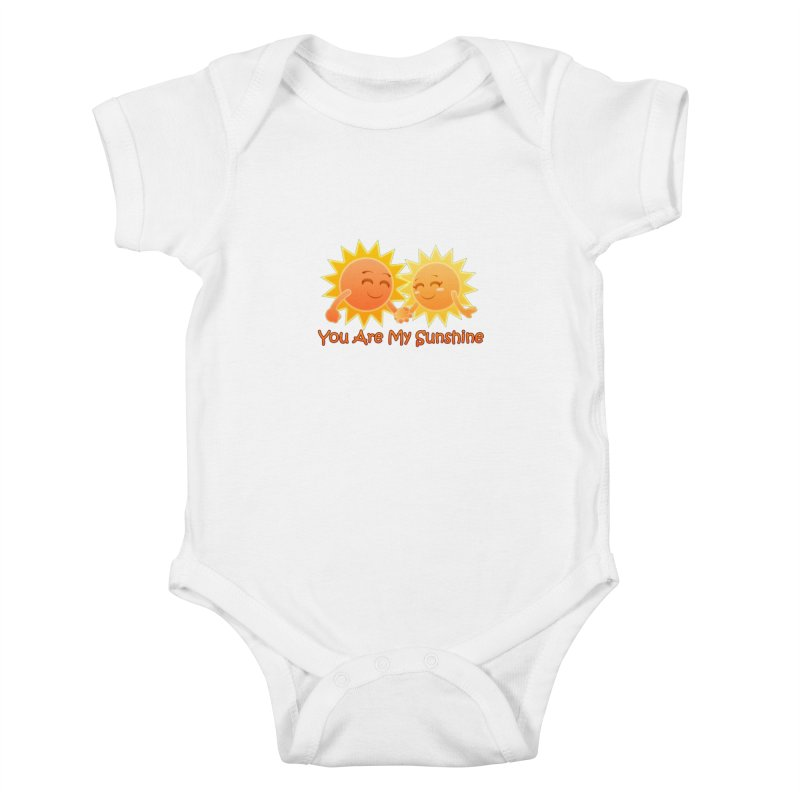 You Are My Sunshine Kids Baby Bodysuit by Baubly Apparel
