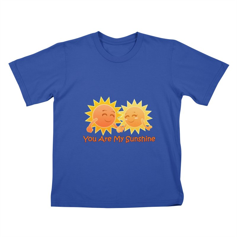 You Are My Sunshine Kids T-shirt by Baubly Apparel