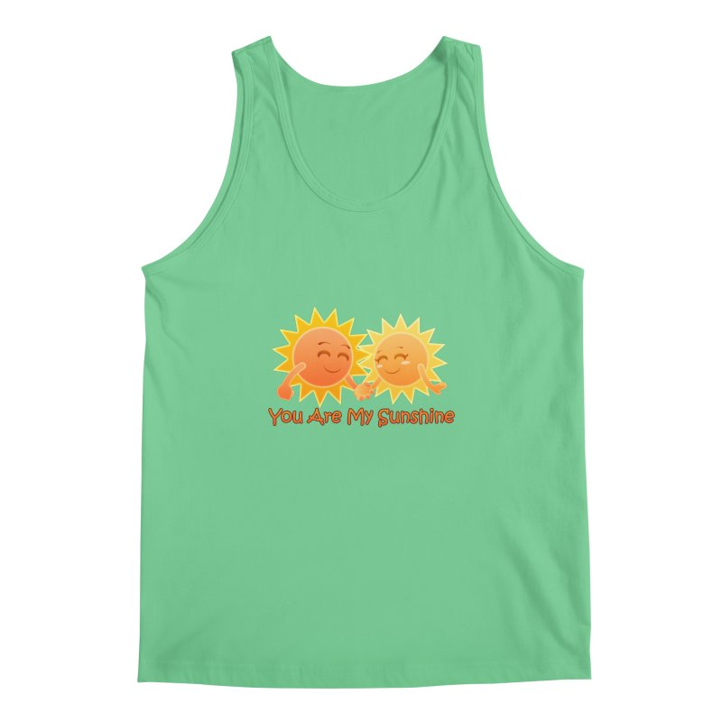 You Are My Sunshine Men's Tank by Baubly Apparel