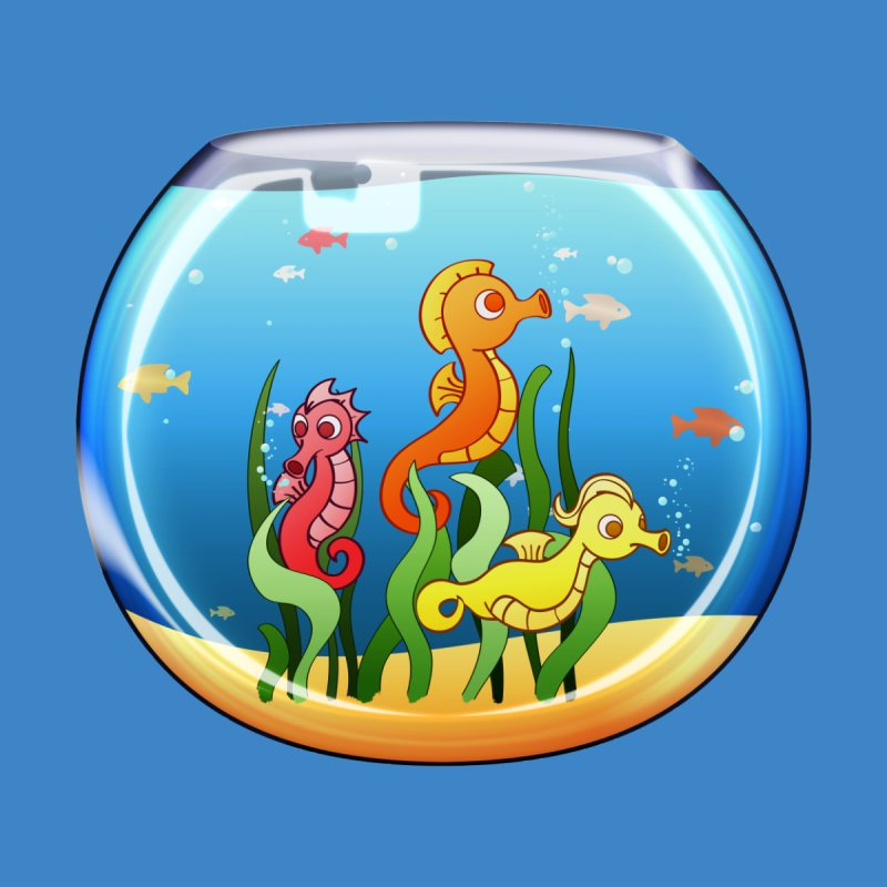 Seahorse Bowl by Baubly Apparel