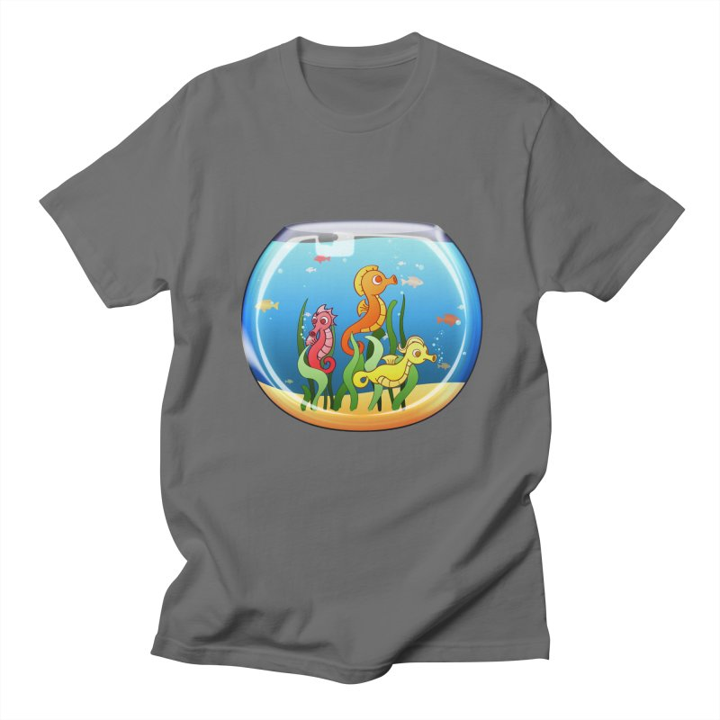 Seahorse Bowl Men's T-Shirt by Baubly Apparel