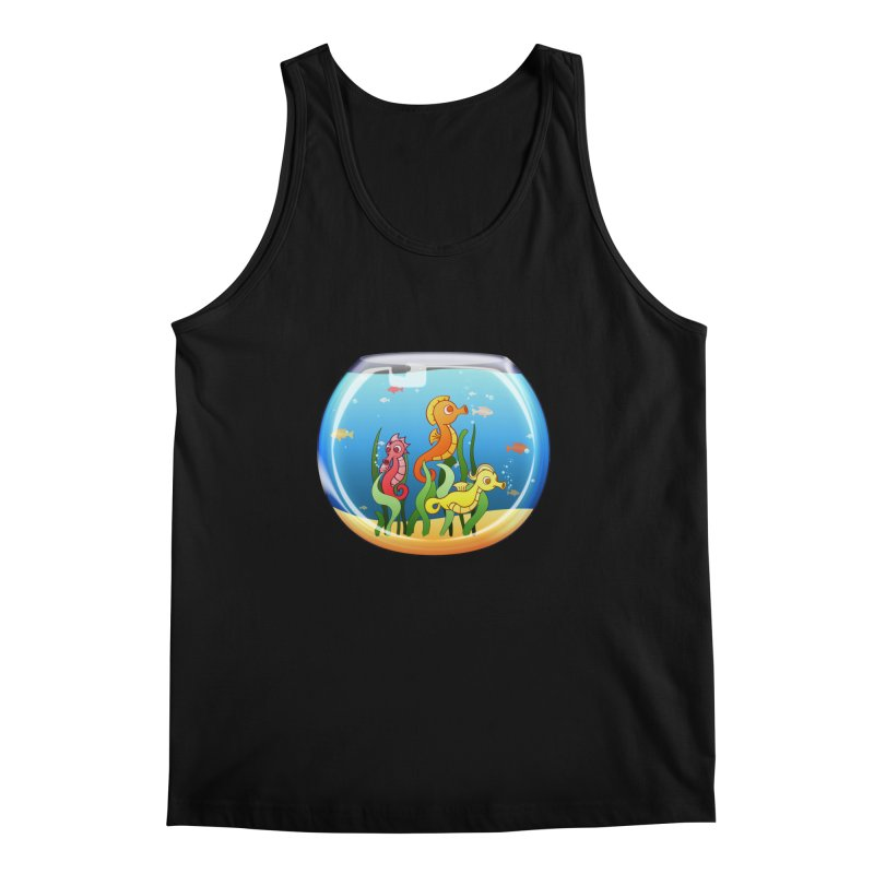Seahorse Bowl Men's Tank by Baubly Apparel