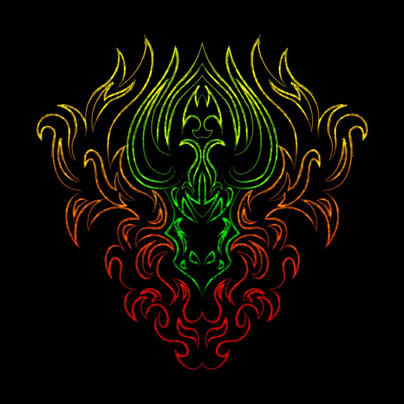 Dragon Fire by Baubly Apparel
