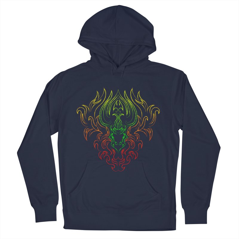 Dragon Fire Women's Pullover Hoody by Baubly Apparel
