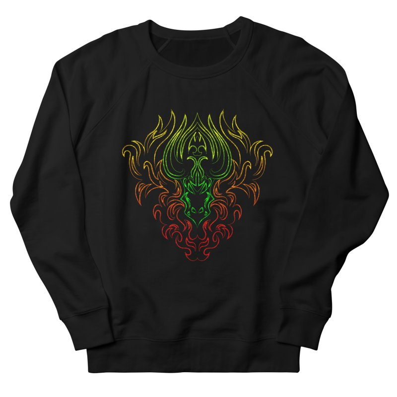 Dragon Fire Women's Sweatshirt by Baubly Apparel