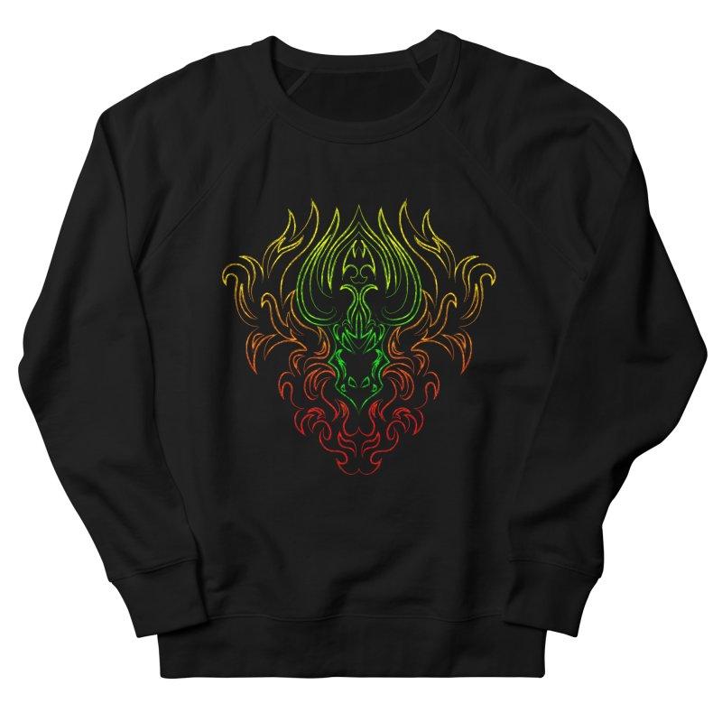 Dragon Fire Men's Sweatshirt by Baubly Apparel