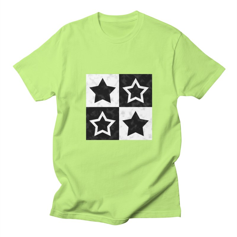 Star Blocks Men's T-Shirt by Baubly Apparel