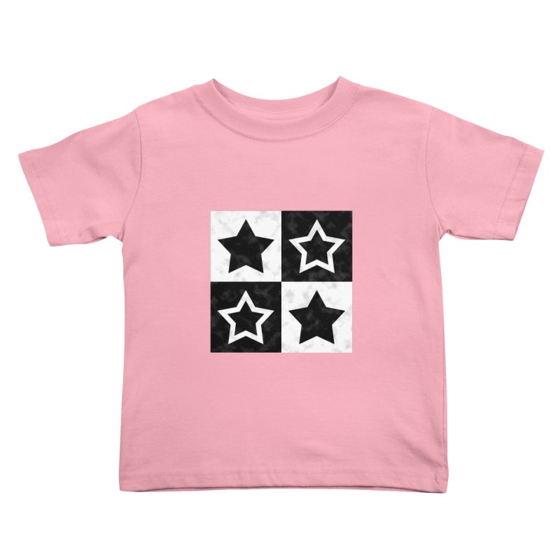 Star Blocks Kids Toddler T-Shirt by Baubly Apparel