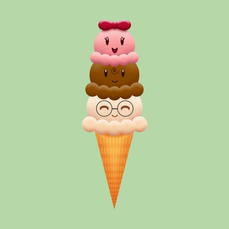 Ice Cream Buddies by Baubly Apparel