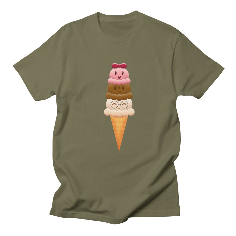 Ice Cream Buddies Men's T-shirt by Baubly Apparel