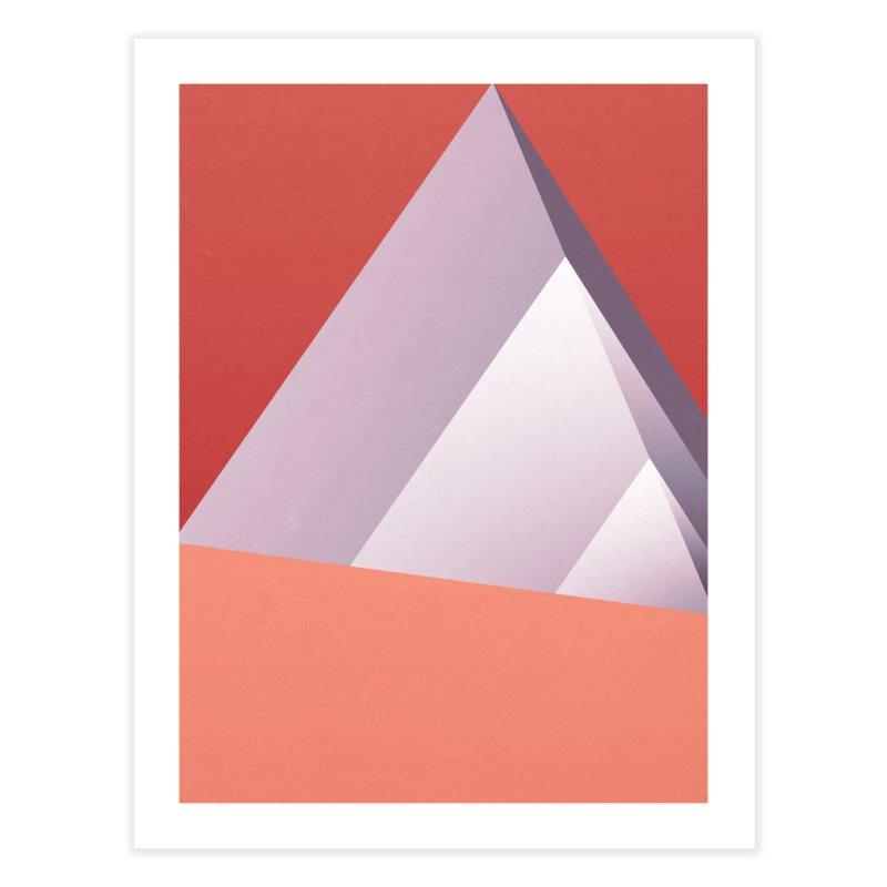 Pyramids Home Fine Art Print by Joe Bauldoff Shop