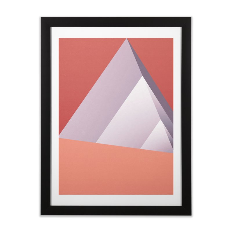 Pyramids Home Framed Fine Art Print by Joe Bauldoff Shop
