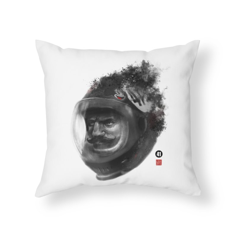 41  Home Throw Pillow by fake smile