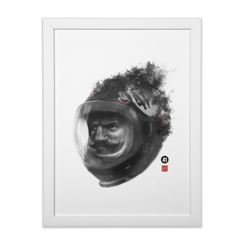 41  Home Framed Fine Art Print by fake smile