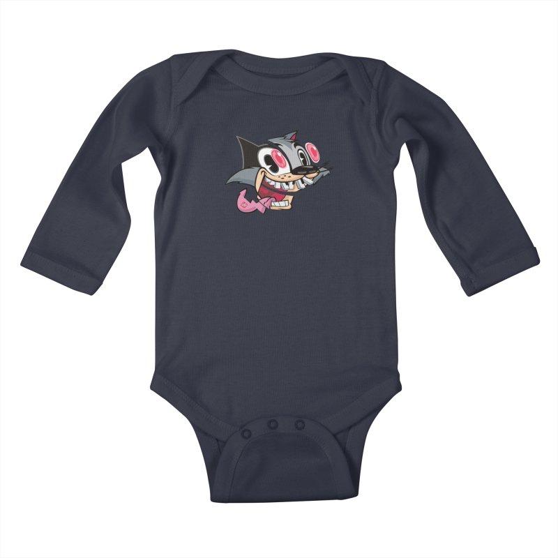 BOOOM! Kids Baby Longsleeve Bodysuit by fake smile