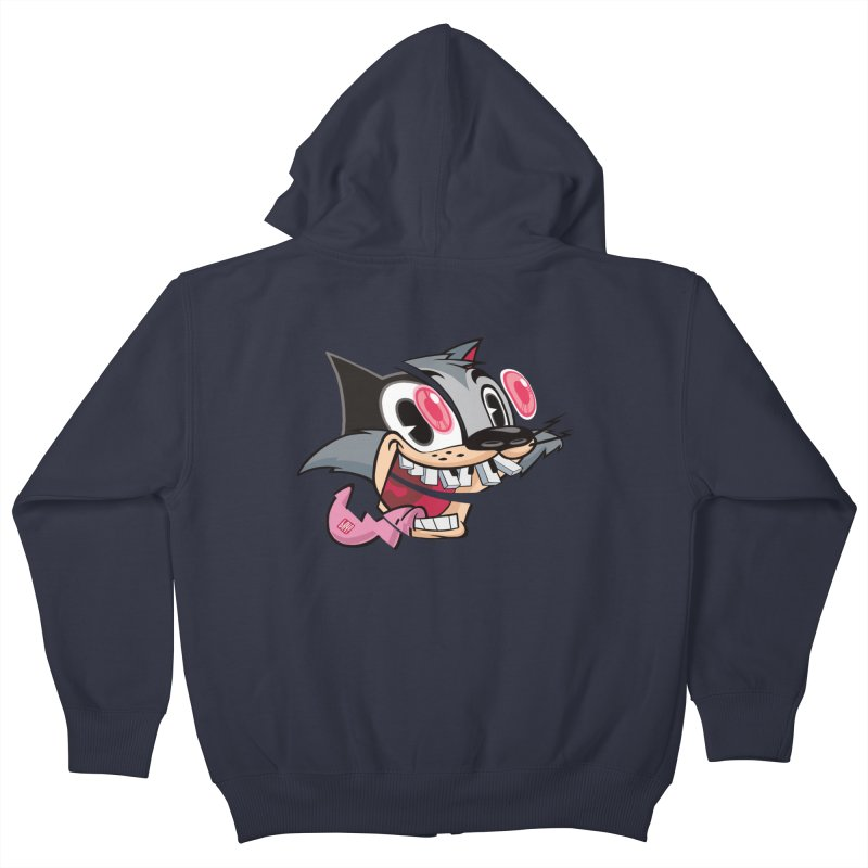 BOOOM! Kids Zip-Up Hoody by fake smile