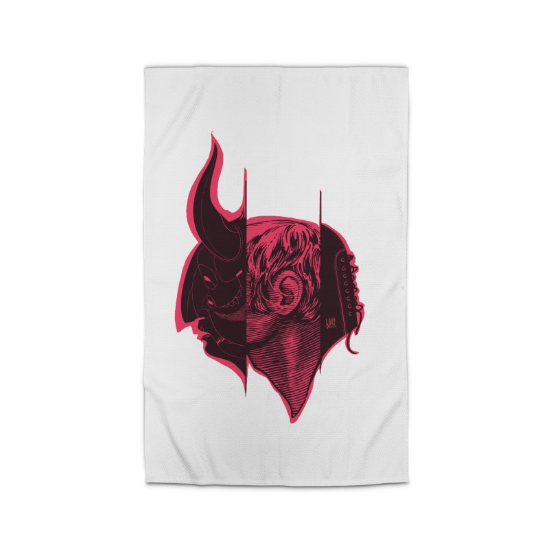 Demon Home Rug by fake smile