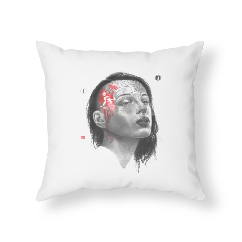 Elle Home Throw Pillow by fake smile