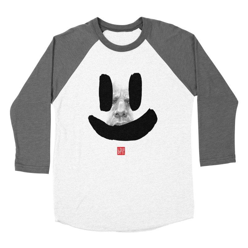 Fake smile Women's Baseball Triblend T-Shirt by fake smile