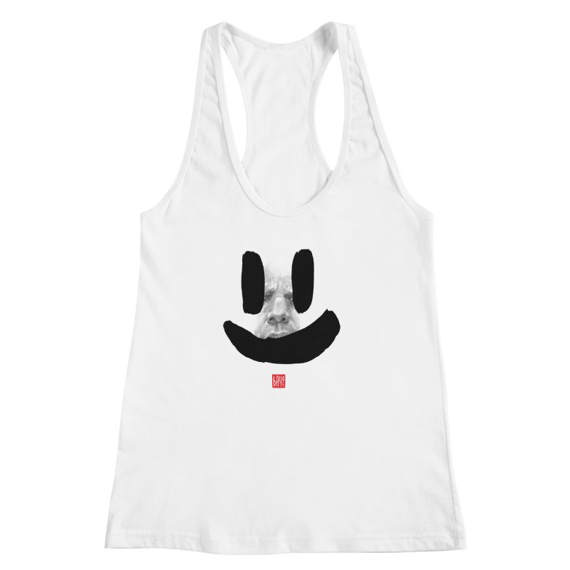 Fake smile Women's Racerback Tank by fake smile